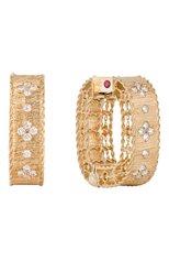 Женские серьги ROBERTO COIN бесцветного цвета, арт. ADR777EA0551 | Фото 1 (Материал сплава: Розовое золото; Драгоценные камни: Бриллианты)