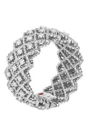Женские кольцо ROBERTO COIN белого золота цвета, арт. ADR777RI0870 | Фото 1