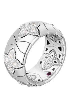 Женские кольцо ROBERTO COIN белого золота цвета, арт. ADR777RI2868 | Фото 1