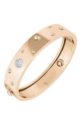 Женский браслет ROBERTO COIN розового и белого золота цвета, арт. ADR888BA1628_01 | Фото 1