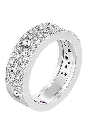 Женские кольцо ROBERTO COIN белого золота цвета, арт. ADR888RI1630 | Фото 1
