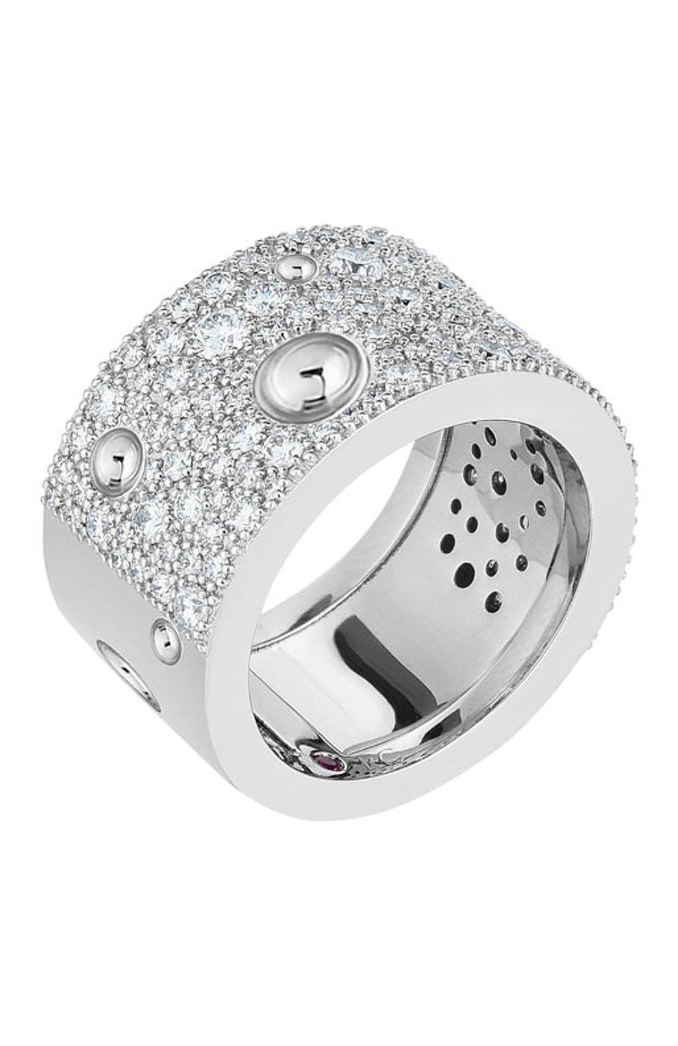 Женские кольцо ROBERTO COIN белого золота цвета, арт. ADR888RI1631 | Фото 1