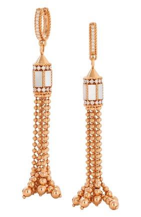Женские серьги ROBERTO COIN розового золота цвета, арт. ADV888EA1891_02 | Фото 1