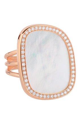 Женские кольцо ROBERTO COIN розового золота цвета, арт. ADV888RI1209 | Фото 1