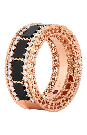 Женские кольцо ROBERTO COIN розового золота цвета, арт. ADV888RI1850 | Фото 1