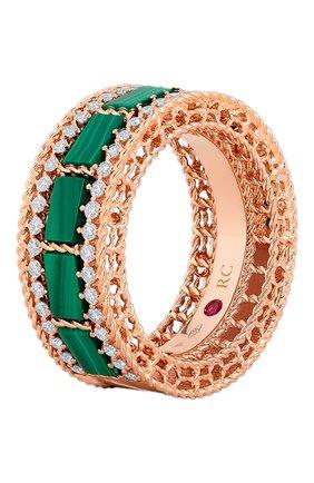 Женские кольцо ROBERTO COIN розового золота цвета, арт. ADV888RI1851 | Фото 1