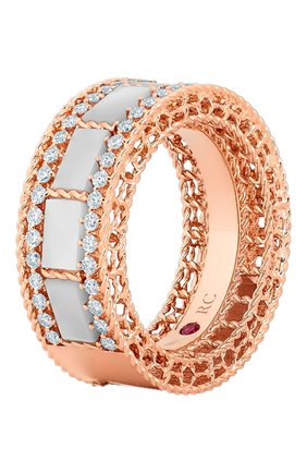 Женские кольцо ROBERTO COIN розового золота цвета, арт. ADV888RI1852 | Фото 1