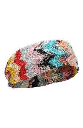 Женская повязка на голову MISSONI разноцветного цвета, арт. MMS00001/BR00AM | Фото 1
