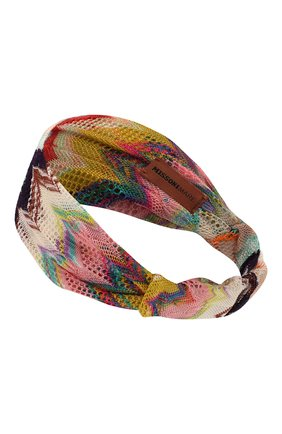 Женская повязка на голову MISSONI разноцветного цвета, арт. MMS00001/BR00AM | Фото 2