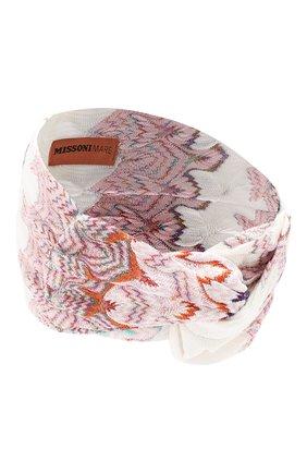 Женская повязка на голову MISSONI разноцветного цвета, арт. MMS00049/BR00AC | Фото 2