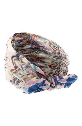 Женская повязка на голову MISSONI разноцветного цвета, арт. MMS00047/BR00AJ | Фото 2