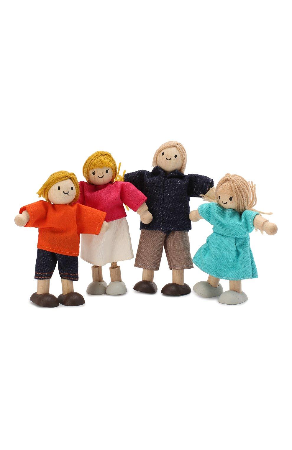 Детского игрушка кукольная семья PLAN TOYS разноцветного цвета, арт. 7415   Фото 1