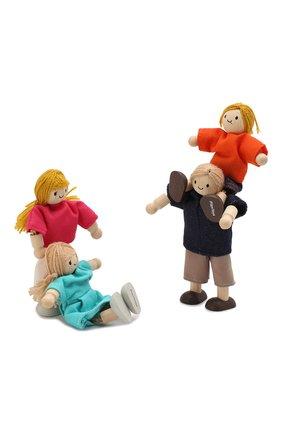 Детского игрушка кукольная семья PLAN TOYS разноцветного цвета, арт. 7415   Фото 2