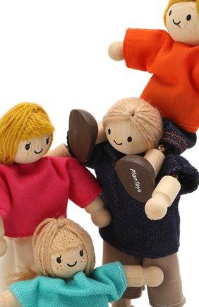 Детского игрушка кукольная семья PLAN TOYS разноцветного цвета, арт. 7415   Фото 3