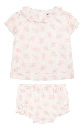 Детский комплект из топа и шорт TARTINE ET CHOCOLAT светло-розового цвета, арт. TQ37021/18M-3A | Фото 1