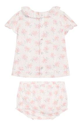 Детский комплект из топа и шорт TARTINE ET CHOCOLAT светло-розового цвета, арт. TQ37021/18M-3A | Фото 2