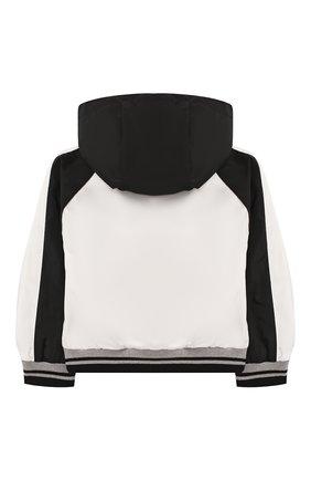 Детского ветровка MONCLER черно-белого цвета, арт. F1-951-1A706-20-54543 | Фото 2