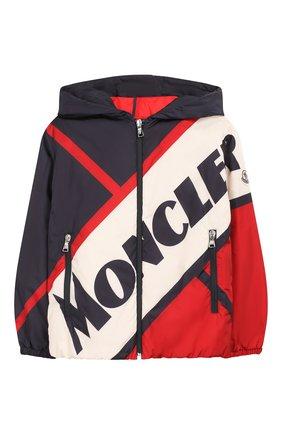 Детского пуховая куртка MONCLER разноцветного цвета, арт. F1-954-1A514-20-C0514/8-10A | Фото 1