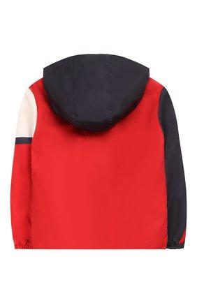 Детского пуховая куртка MONCLER разноцветного цвета, арт. F1-954-1A514-20-C0514/8-10A | Фото 2