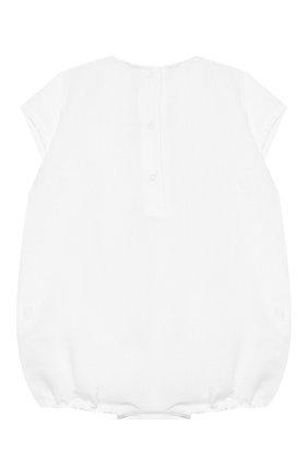 Детское комплект из песочника и пинеток LA PERLA белого цвета, арт. 48699 | Фото 2