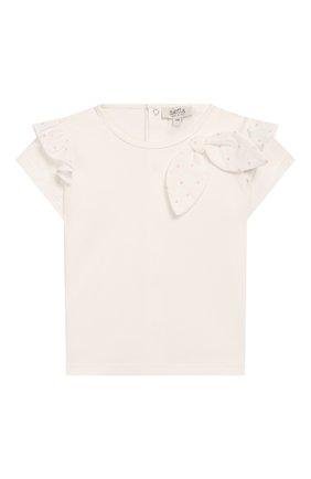 Детский топ ALETTA белого цвета, арт. RW00270B/12M-2A | Фото 1