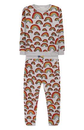 Детская комплект из свитшота и брюк STELLA MCCARTNEY разноцветного цвета, арт. 600115/S0J12 | Фото 1