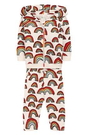 Детский комплект из толстовки и брюк STELLA MCCARTNEY разноцветного цвета, арт. 600137/S0J12 | Фото 1