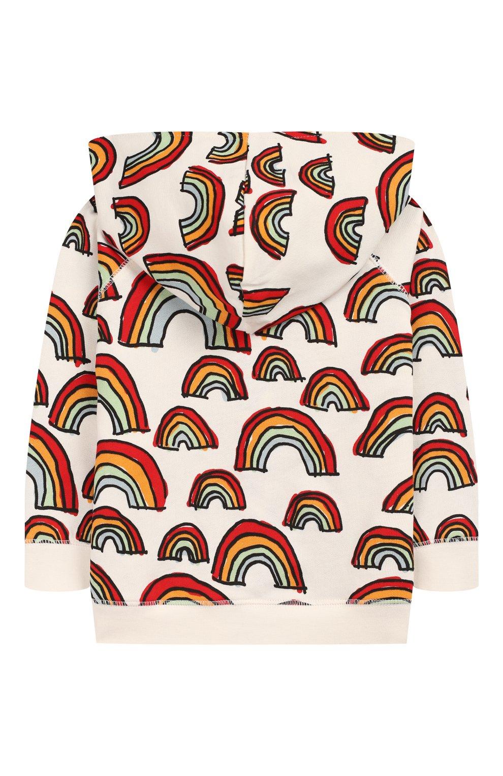 Детский комплект из толстовки и брюк STELLA MCCARTNEY разноцветного цвета, арт. 600137/S0J12 | Фото 3