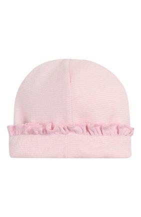 Детского хлопковая шапка MAGNOLIA BABY розового цвета, арт. 649-60-PK | Фото 2