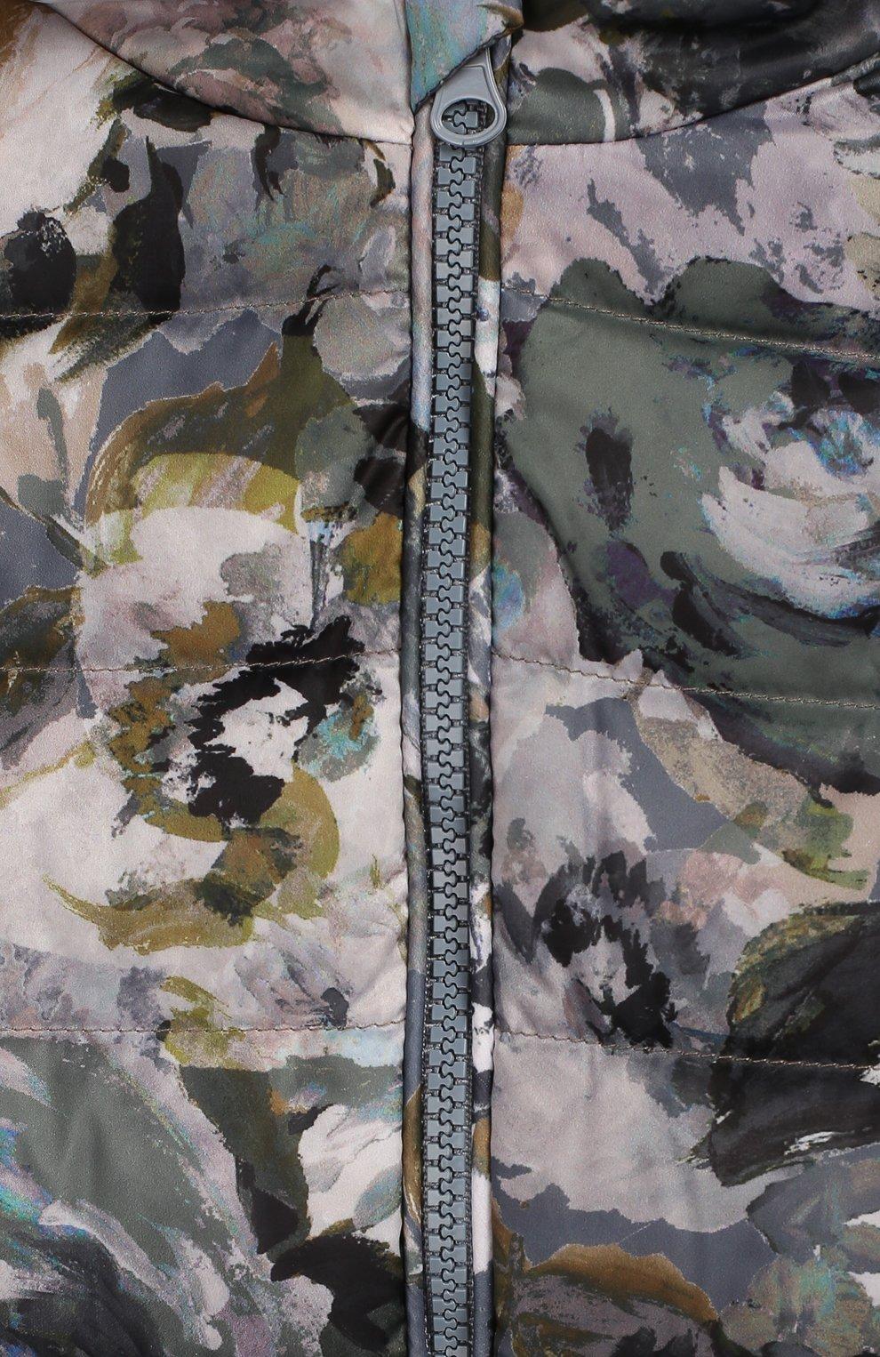 Детский пуховый комбинезон CHEPE разноцветного цвета, арт. 391270   Фото 3