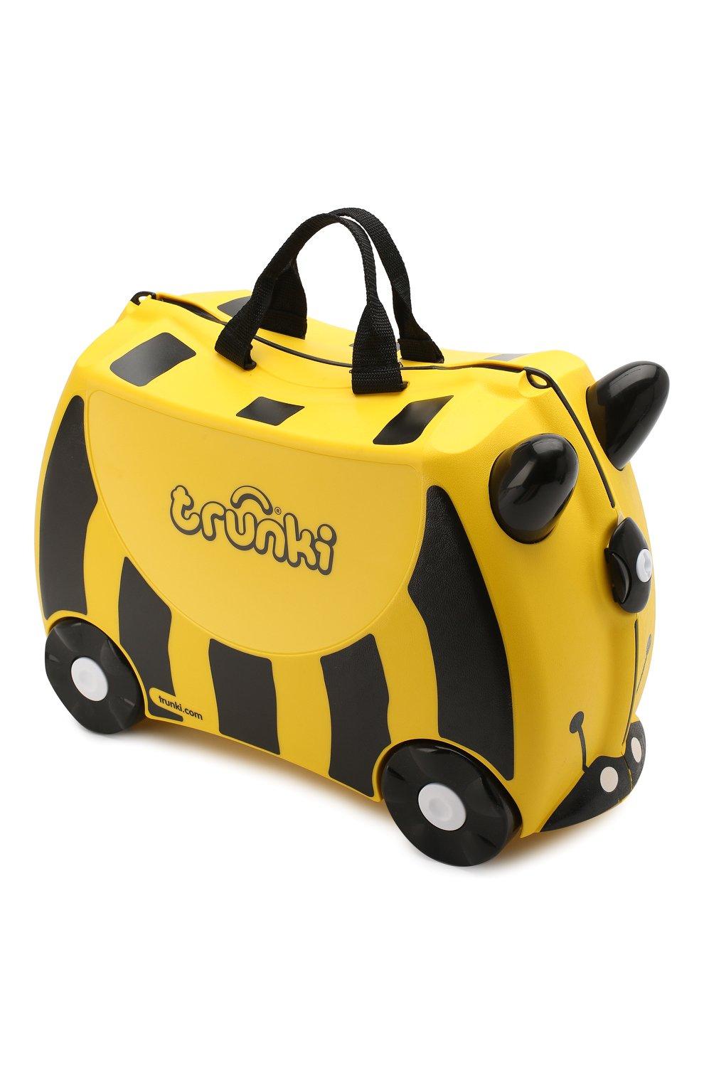 Детский чемодан TRUNKI желтого цвета, арт. 0044-GB01-P1   Фото 2