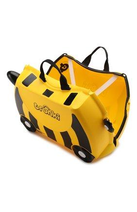 Детский чемодан TRUNKI желтого цвета, арт. 0044-GB01-P1   Фото 3