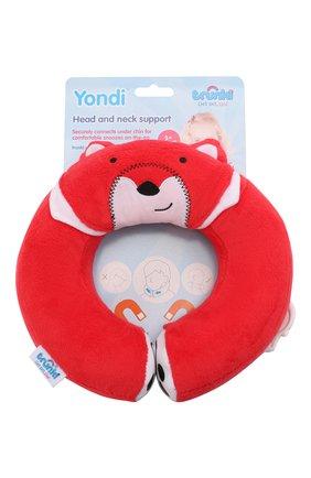 Детского игрушка подголовник yondi fox TRUNKI разноцветного цвета, арт. 0148-GB01 | Фото 1