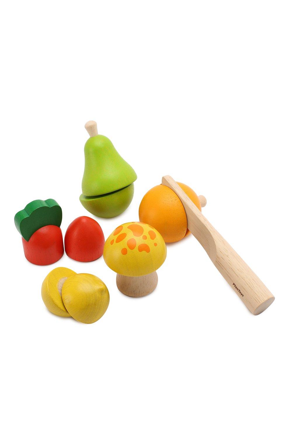 Детского игрушка набор фруктов и овощей PLAN TOYS разноцветного цвета, арт. 5337 | Фото 2