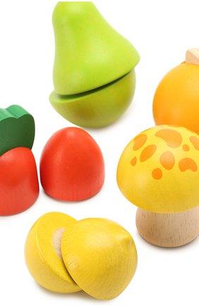 Детского игрушка набор фруктов и овощей PLAN TOYS разноцветного цвета, арт. 5337 | Фото 3