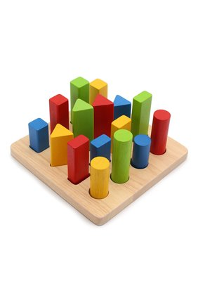 Детского игрушка геометрический сортер PLAN TOYS разноцветного цвета, арт. 5125 | Фото 1