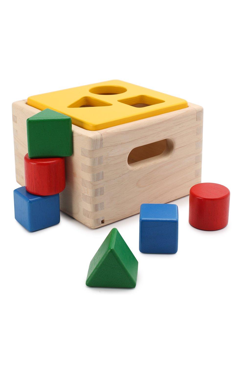 Детского игрушка блок для сортировки PLAN TOYS разноцветного цвета, арт. 9430 | Фото 1