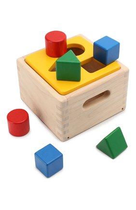 Детского игрушка блок для сортировки PLAN TOYS разноцветного цвета, арт. 9430 | Фото 2