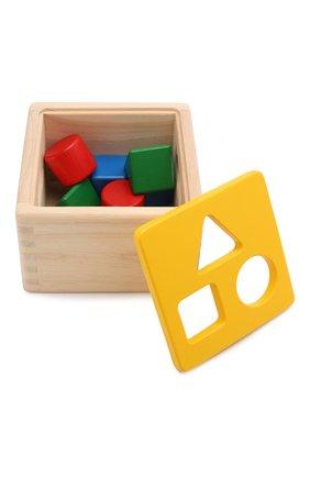 Детского игрушка блок для сортировки PLAN TOYS разноцветного цвета, арт. 9430 | Фото 3