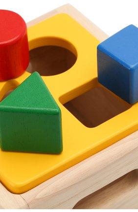 Детского игрушка блок для сортировки PLAN TOYS разноцветного цвета, арт. 9430 | Фото 4