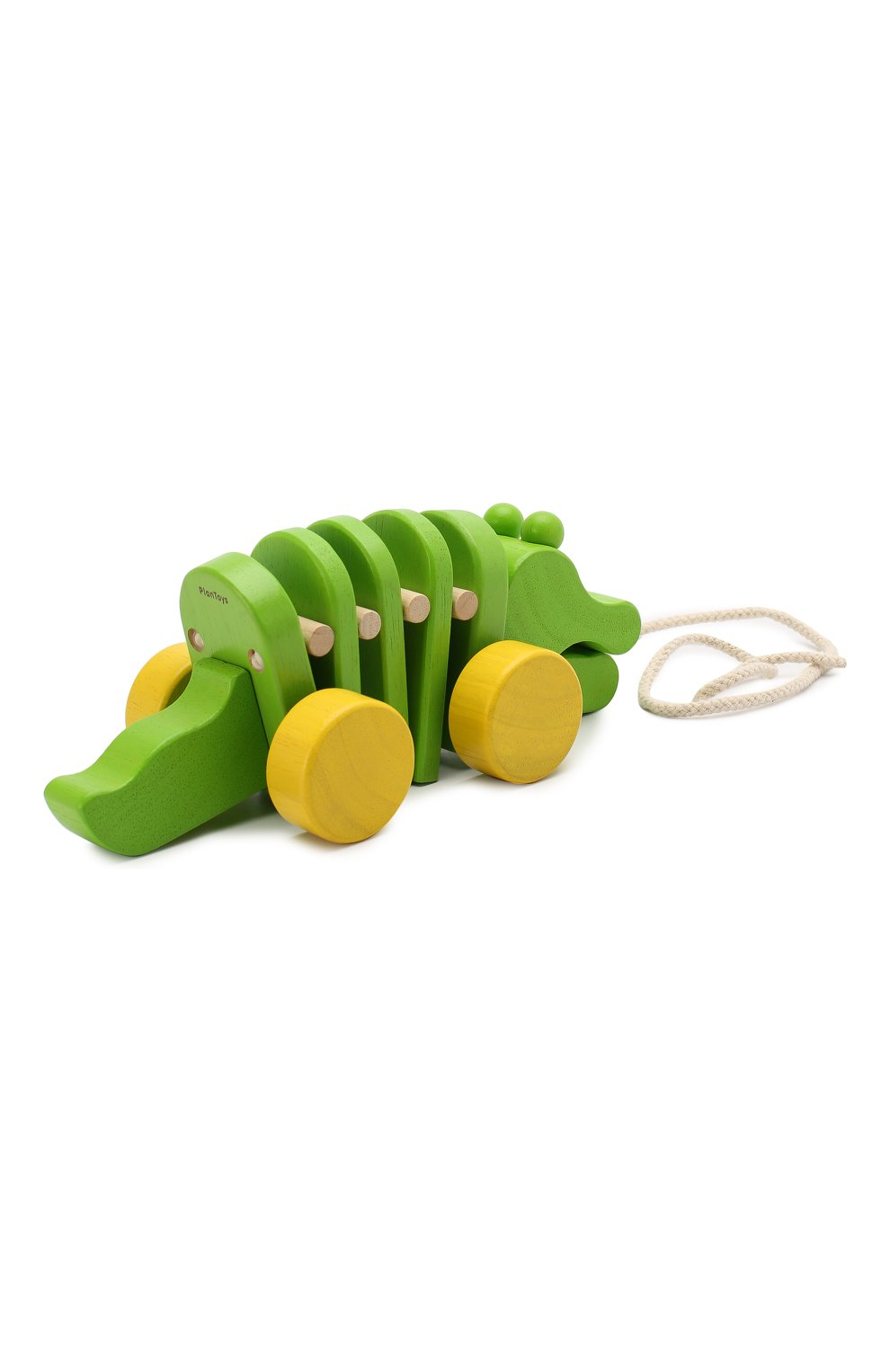 Детского игрушка каталка крокодил PLAN TOYS разноцветного цвета, арт. 5105 | Фото 2