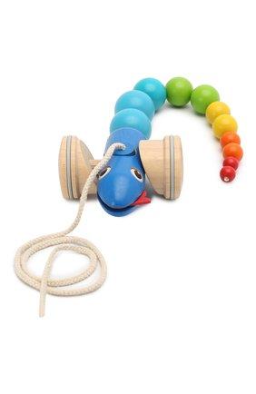 Детского игрушка каталка змейка PLAN TOYS разноцветного цвета, арт. 5109 | Фото 1