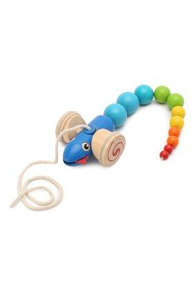 Детского игрушка каталка змейка PLAN TOYS разноцветного цвета, арт. 5109 | Фото 2