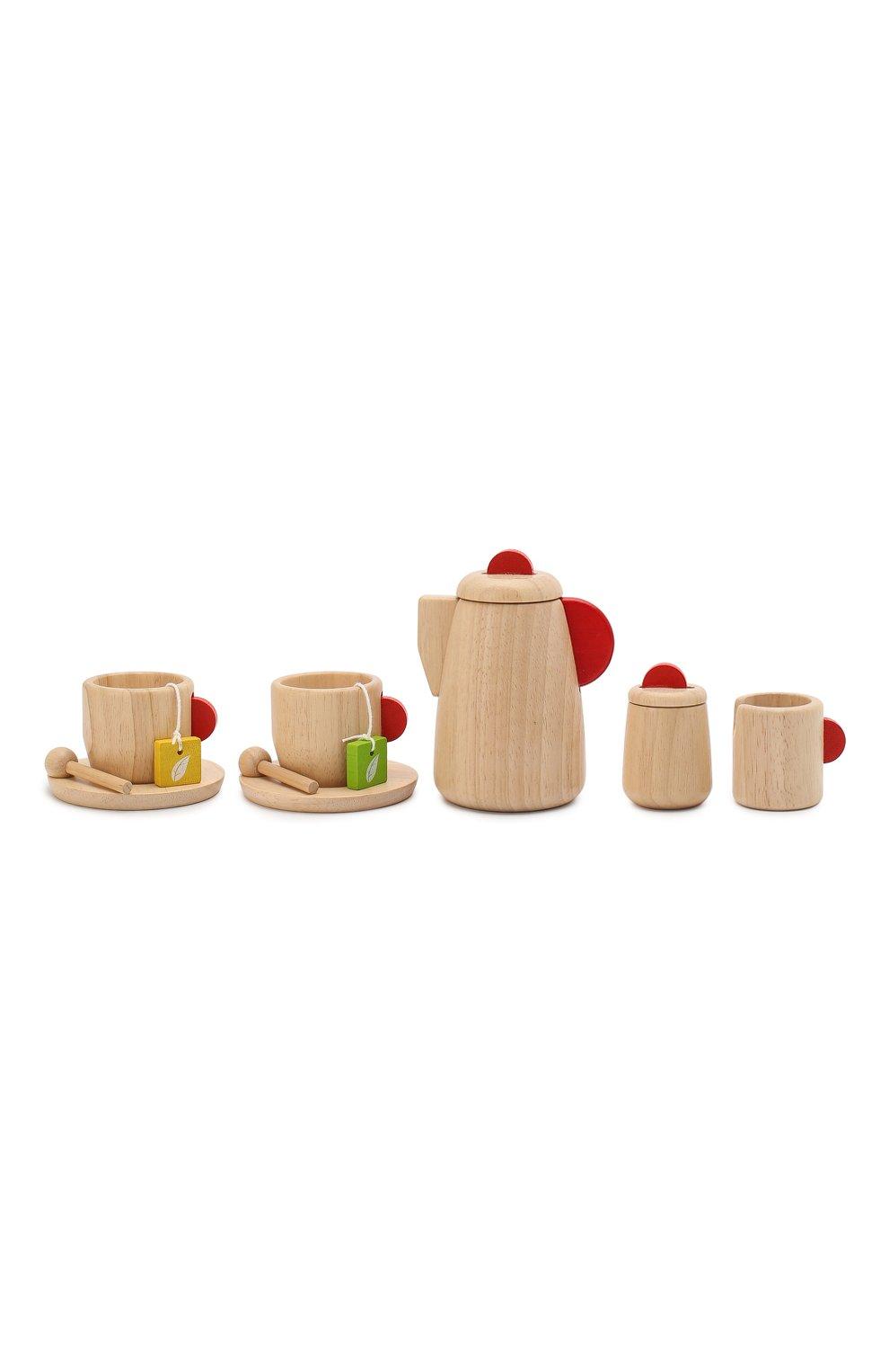 Детского игрушка набор чаепитие PLAN TOYS разноцветного цвета, арт. 3433   Фото 2