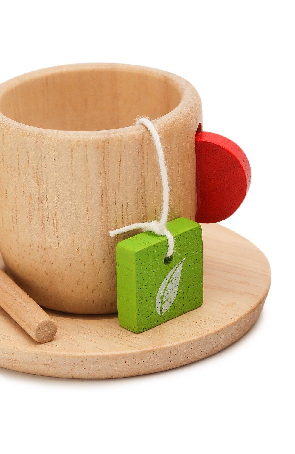 Детского игрушка набор чаепитие PLAN TOYS разноцветного цвета, арт. 3433   Фото 3