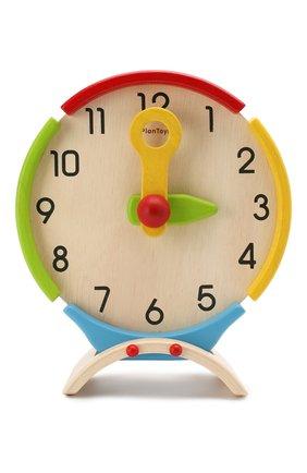 Детского игрушка часы PLAN TOYS разноцветного цвета, арт. 5122 | Фото 1