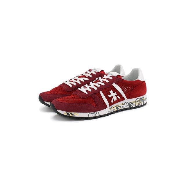 Замшевые кроссовки Eric Premiata — Замшевые кроссовки Eric