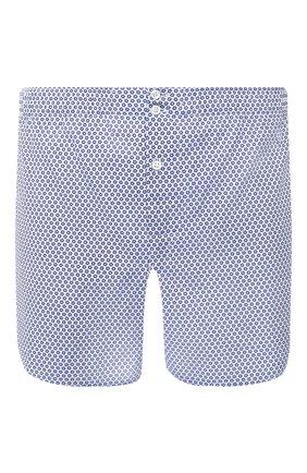 Мужские хлопковые боксеры ROBERTO RICETTI синего цвета, арт. B0XER DB1/A2411 | Фото 1