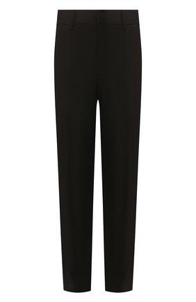 Мужской хлопковые брюки NEIL BARRETT черного цвета, арт. BPA744/N014 | Фото 1