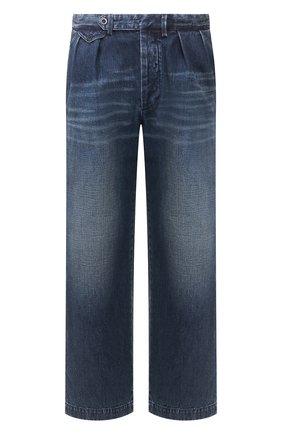 Мужские джинсы RALPH LAUREN темно-синего цвета, арт. 790787188 | Фото 1